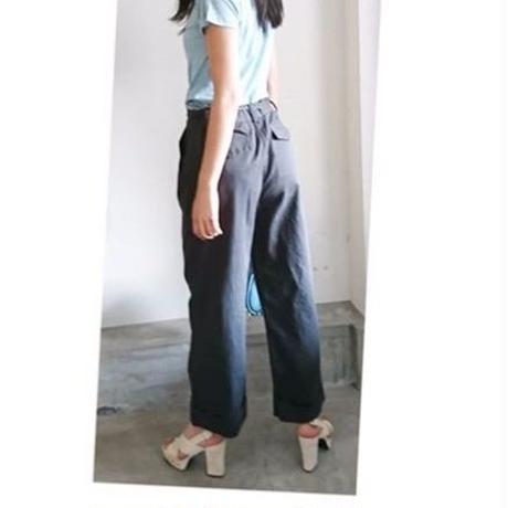 cotton wide pants