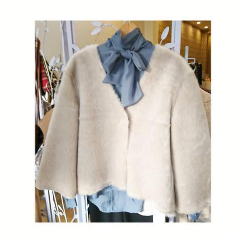 fake mink jacket