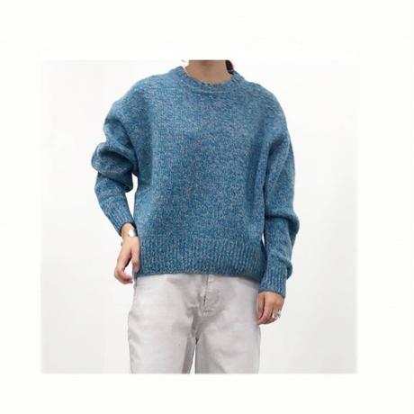 mix yarns knit