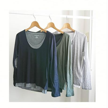 Layering long sleeve tee