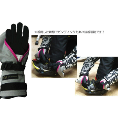 4WAYストレッチ《BLUE GREEN》 Perfection Mitt GLOVE