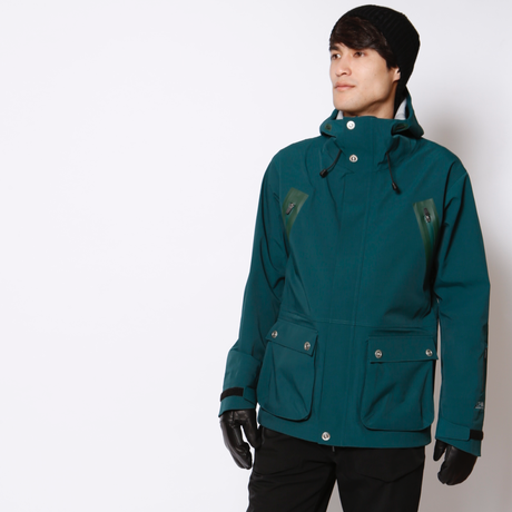 HUMAN JACKET 《4WAY BLUEGREEN》