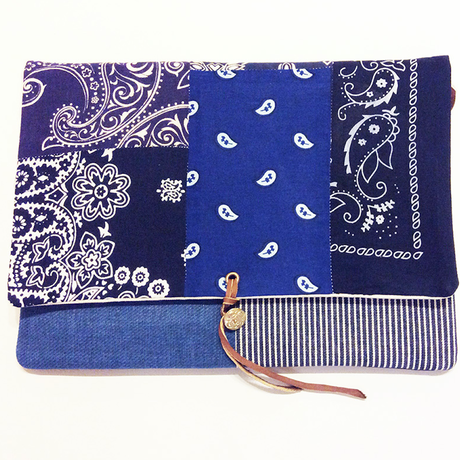 REMADE Clutch Bag 《クラッチバッグLサイズ 》