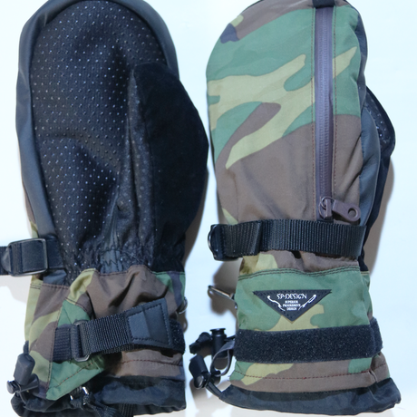 SPdesign 小松織物ジャガード3D-CAMO 《Perfection Mitt GLOVELimited edition items