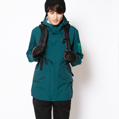 HEADLIGHT JACKET《COM02 BLUE GREEN》
