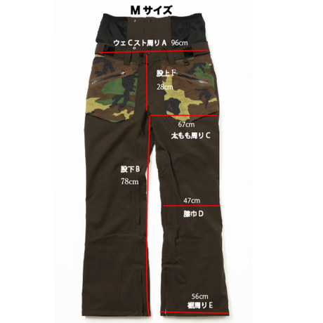 COM-06 STRAIGHT Pants. 《#2BROWN×3D-CAMO》サンプル販売