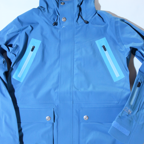 HUMAN Jacket 4WAY ST-BLUE