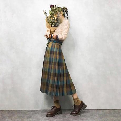RITSUKO SHIRAHAMA check skirt
