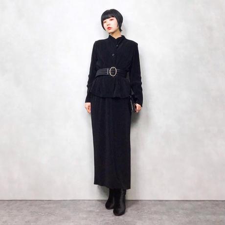 SAGE black skirt