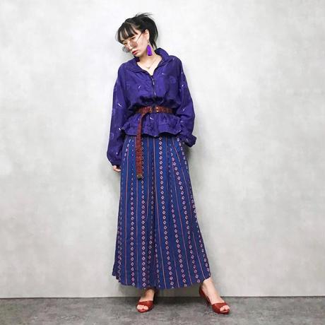 ABVIEN purple silk jacket