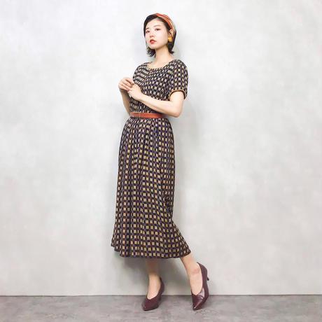 Jarah Eliqabeth import vintage dress-468-8
