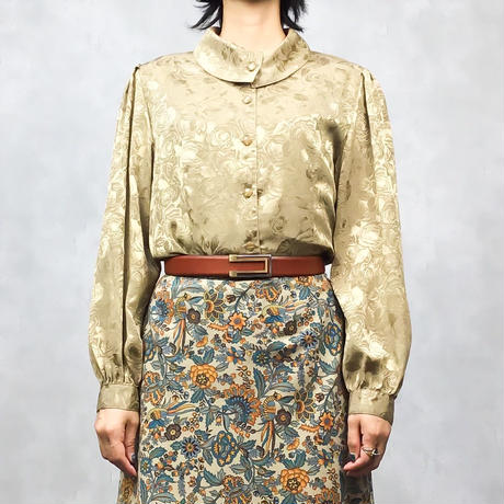 Rose classical gold shirt-494-8