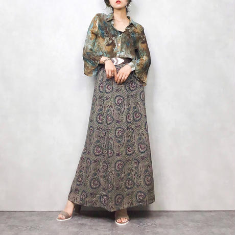 LIZ BAKER long skirt-285