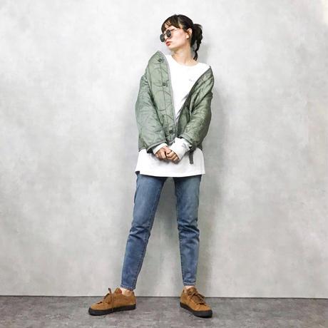 Liner  jacket  moss green