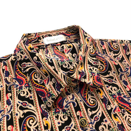 Solietd'Or paisley shirt-601-10