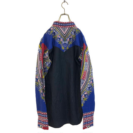 Mexican blue shirtjacket -566-9