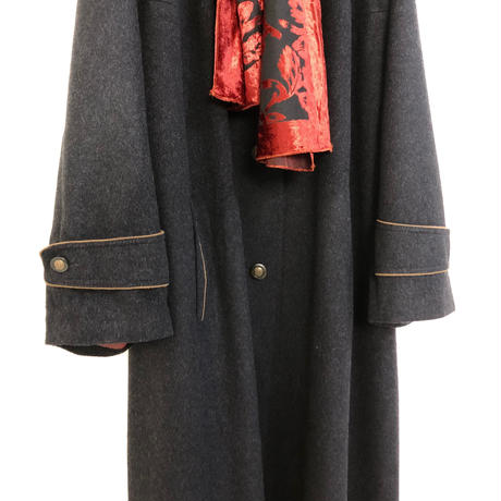 AQUILA ALPACCA LODEN long coat-779-12