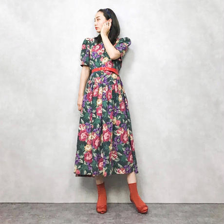 MissDonby classical flower dress