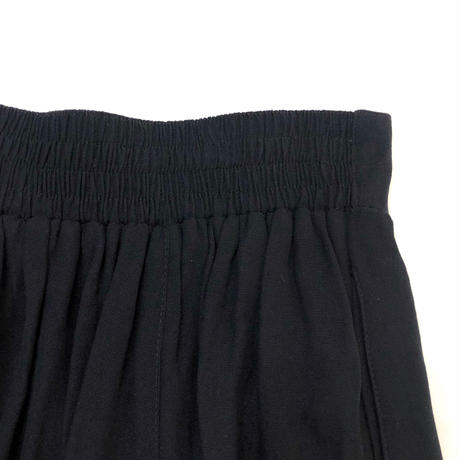 MADE IN USA CAROLE LITTLE black metal skirt-525-9