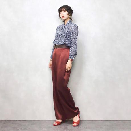 wave pattern rétro shirt-296