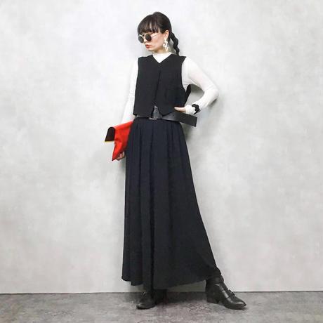HARDY AMIES London black vest