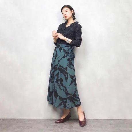 P-4 petal pattern skirt-460-8