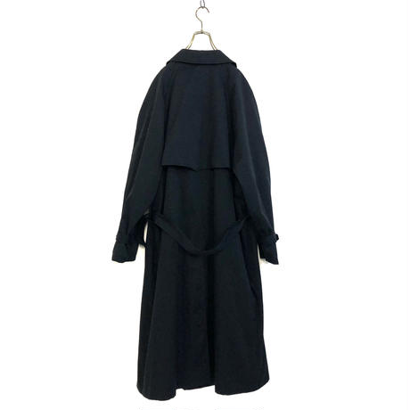 LOMDON FOG dark navy trench coat -787-12