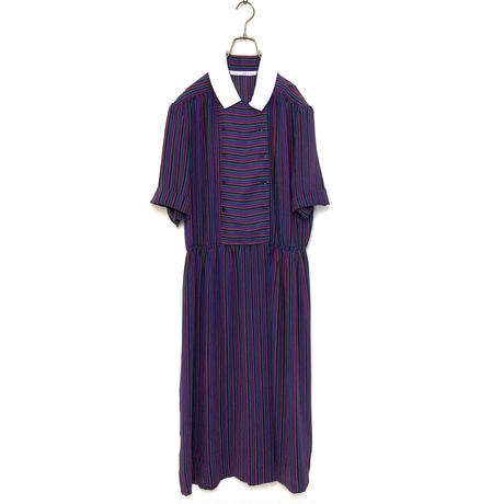 Gary Lawrence stripe color one-piece-390-7