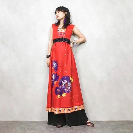 ga-na flower maxi dress-371-7