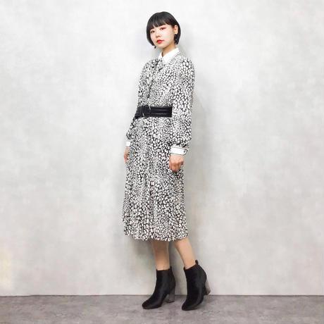 Belle Robe leopard dress