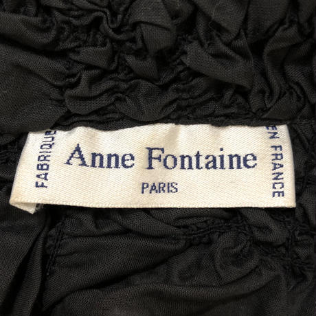 Anne Fontaine PARIS black shirt-478-8
