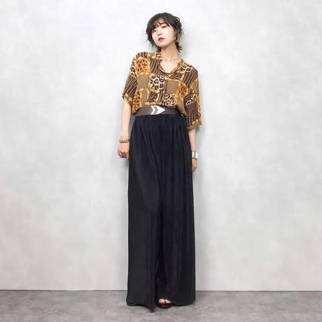 FUEGO leopard shirt-379-7