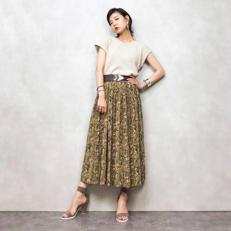 Claude Lema exotic pattern skirt-456-7