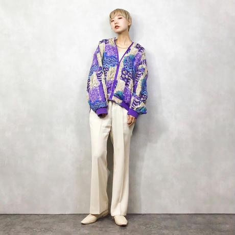 CASUAL CORNER silk nylon jacket-1018-4