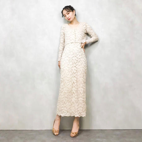 MADE IN USA MICHI set up dress-437-KH