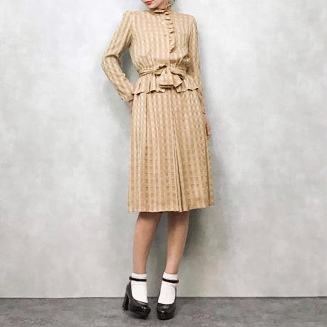 Milk caramel dress