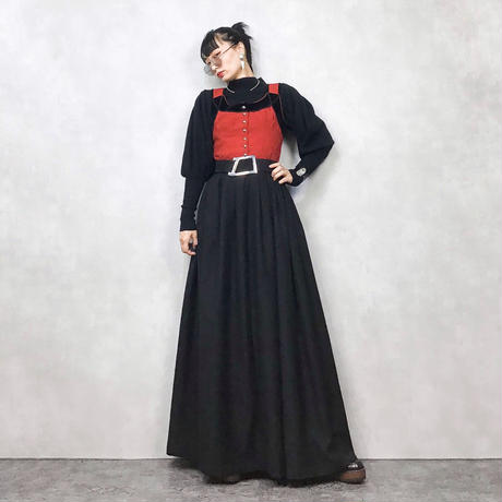 Volksechte vintage long dress-671-11