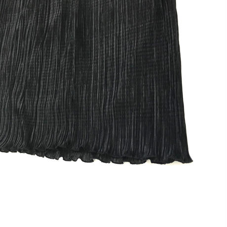 Black pleats setup dress