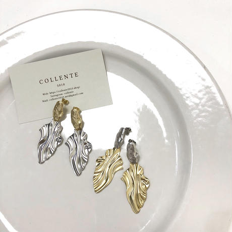 COLLENTE  original  variety pierce Silver&Gold