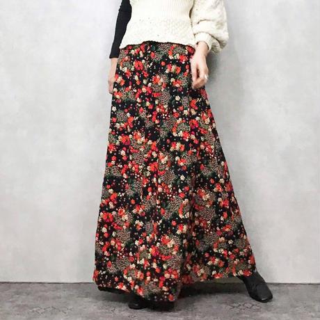 Pedicel black maxi skirt