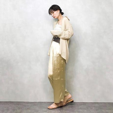 Wayri linen long shirt-315