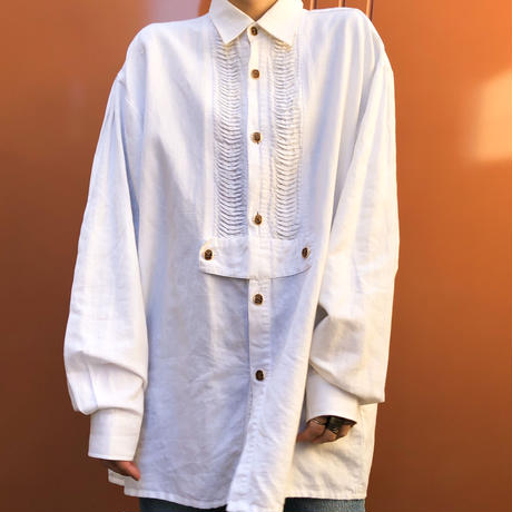 DisHEE linen big shirt-534-9