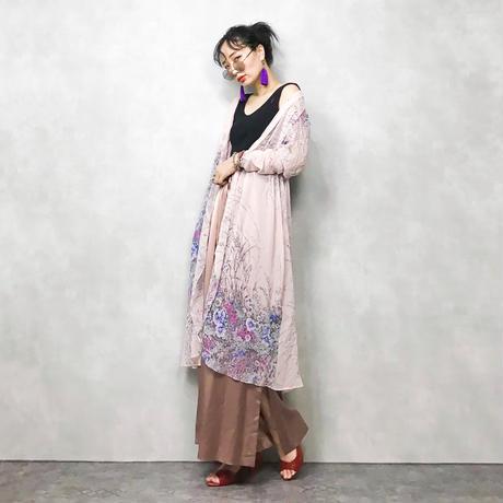 HANAE MORI NEW YORK see through gown