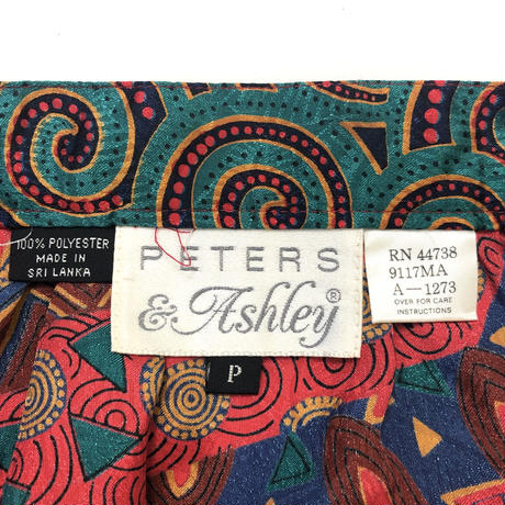 RETERS & Ashley pattern skirt-276