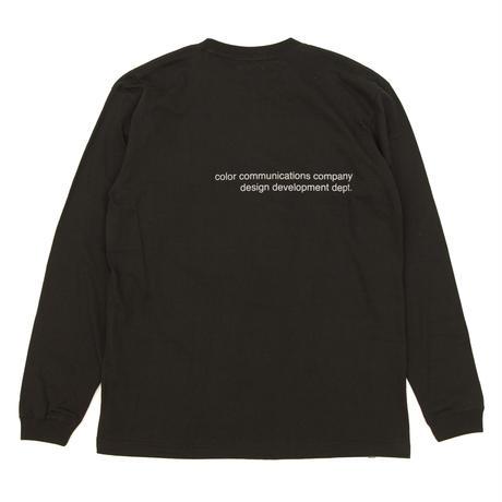LONG SLEEVE T-SHIRT / CLR EMB