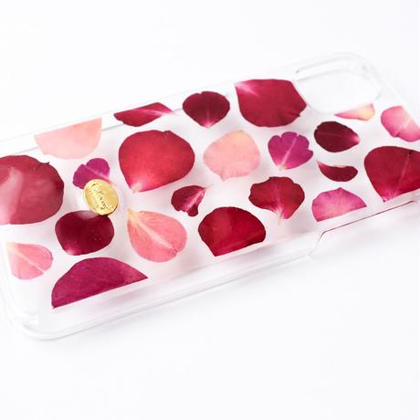 押し花ケース iPhone11/XR  ROSE