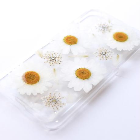 押し花ケース iPhoneX/Xs ノースポール