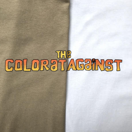 Color at Against ORIGINALS / Chunk TEE / Sand