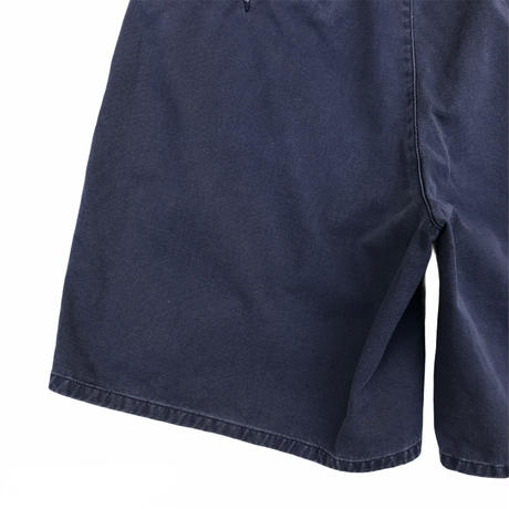 90's Polo by Ralph Lauren / Cotton 2Tuck Shorts / Navy / Used(34)