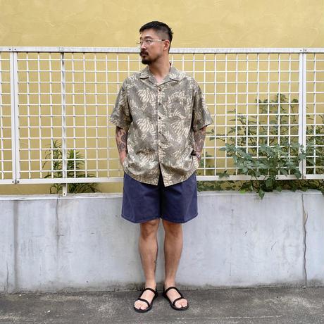 00's L.L.Bean / Resort Open Collar Shirt / Used